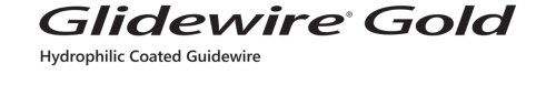 GLIDEWIRE® Gold Hydrophilic Coated Guidewire logo